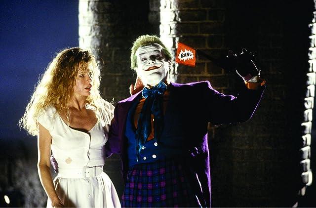 Kim Basinger and Jack Nicholson in Batman (1989)