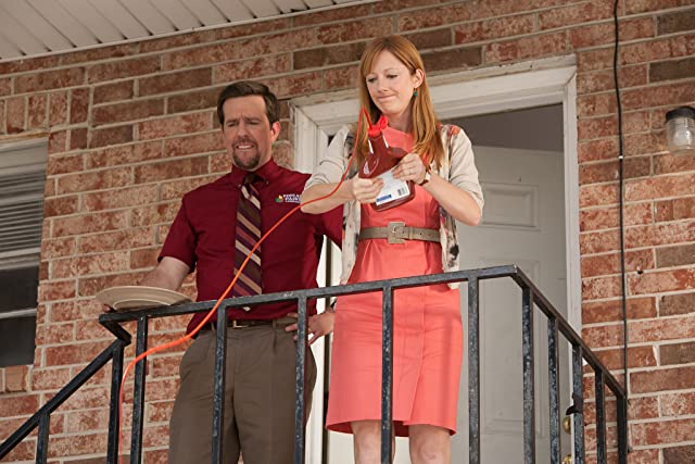 Judy Greer and Ed Helms in Jeff, Who Lives at Home (2011)