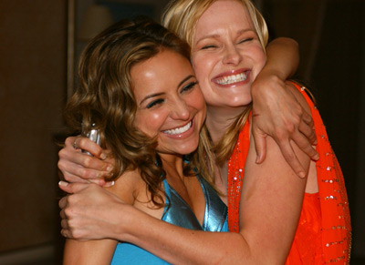 Christine Lakin and Nicholle Tom at In Memory of My Father (2005)
