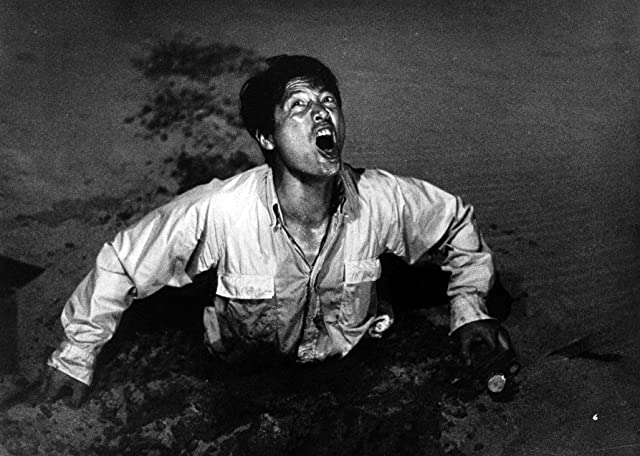 Eiji Okada in Woman in the Dunes (1964)