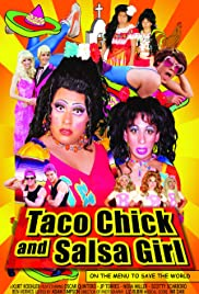 Taco Chick and Salsa Girl Poster