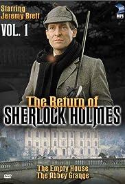 The Return of Sherlock Holmes Poster - TV Show Forum, Cast, Reviews