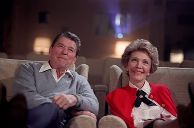 Ronald Reagan and Nancy Reagan in Reagan (2011)