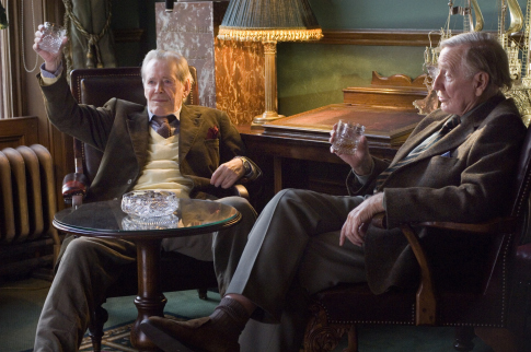 Peter O'Toole and Leslie Phillips in Venus (2006)