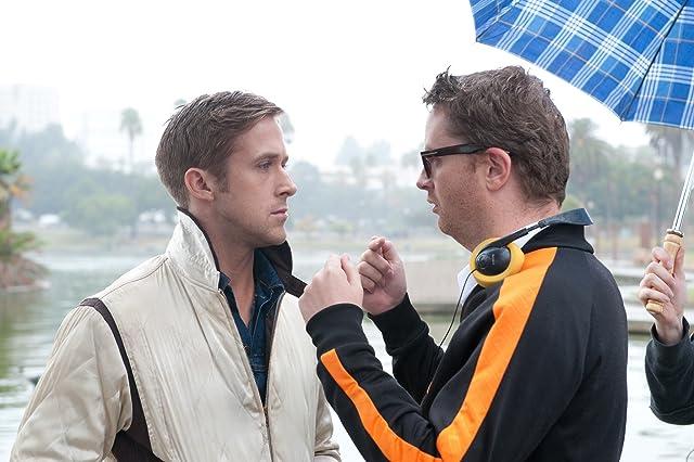 Ryan Gosling and Nicolas Winding Refn in Drive (2011)