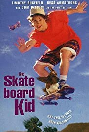 The Skateboard Kid Poster