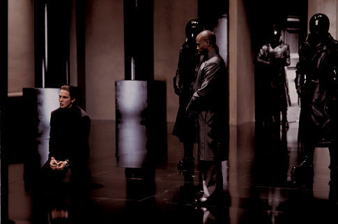 Christian Bale and Taye Diggs in Equilibrium (2002)
