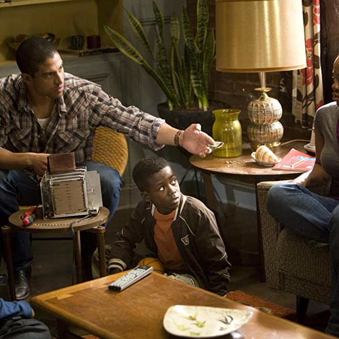 Adam Rodriguez, Kwesi Boakye, Hope Olaide Wilson, and Frederick Siglar in I Can Do Bad All by Myself (2009)