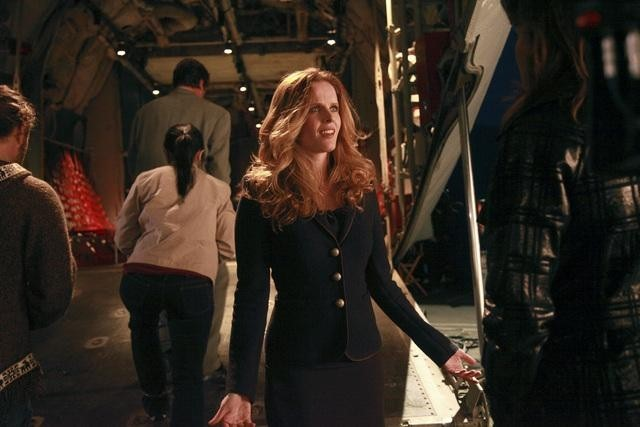 Lucy Lawless, Rebecca Mader, and in No Ordinary Family: No Ordinary Beginning (2011)