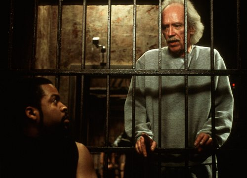 John Carpenter and Ice Cube in Ghosts of Mars (2001)