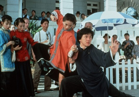 Jackie Chan in The Legend of Drunken Master (1994)