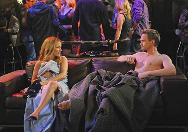 Still of Neil Patrick Harris and Becki Newton in How I Met Your Mother