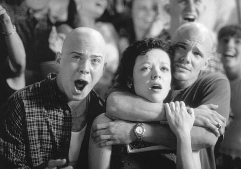 Emily Bergl, Dylan Bruno, and Justin Urich in The Rage: Carrie 2 (1999)