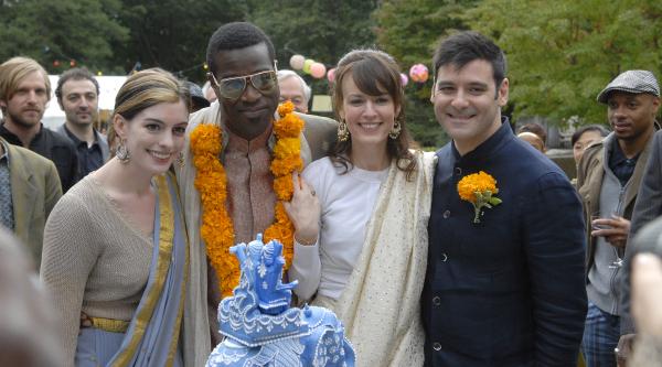 Anne Hathaway and Rosemarie DeWitt in Rachel Getting Married (2008)