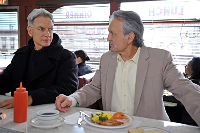 Mark Harmon and Muse Watson in NCIS (2003)