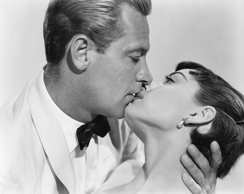 Audrey Hepburn and William Holden from