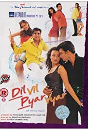 Dil Vil Pyar Vyar (2002) Poster - Movie Forum, Cast, Reviews
