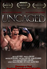 Uncaged: Inside the Fighter Poster