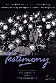 Testimony (1988) Poster - Movie Forum, Cast, Reviews