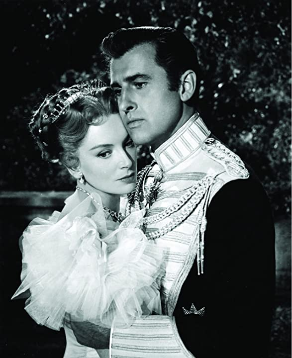 Deborah Kerr and Stewart Granger in The Prisoner of Zenda (1952)