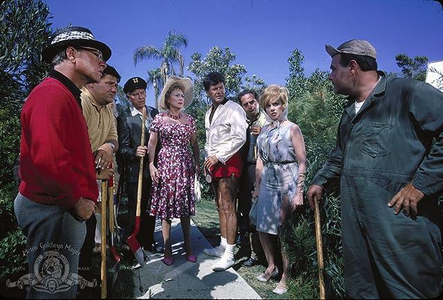Milton Berle, Mickey Rooney, Buddy Hackett, Jonathan Winters, Edie Adams, Sid Caesar, Ethel Merman, and Dick Shawn in It's a Mad Mad Mad Mad World (1963)