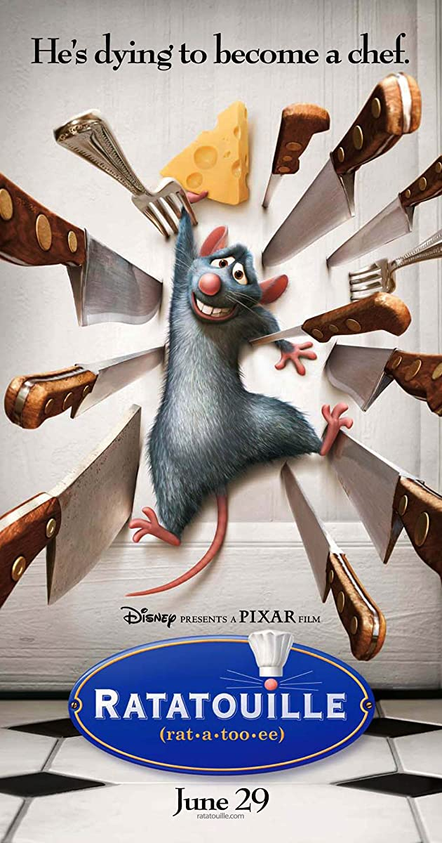 Ratatouille IMDb - How your favourite animated movies are put together and edited