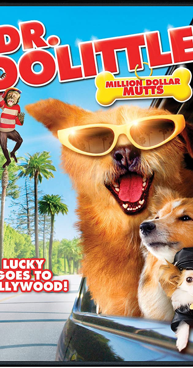 Daktaras Dolitlis 5: Lakis keliauja į Holivudą / Dr Dolittle Million Dollar Mutts (2009) online