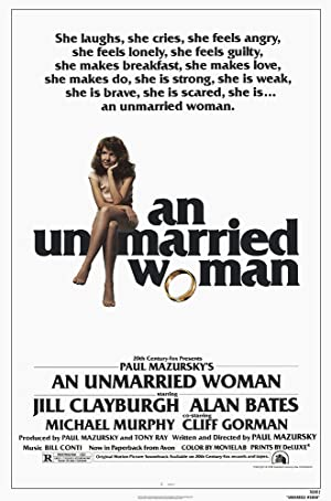 An Unmarried Woman poster
