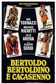 Bertoldo, Bertoldino e... Cacasenno Poster