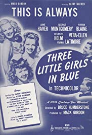 Three Little Girls in Blue (1946) Poster - Movie Forum, Cast, Reviews