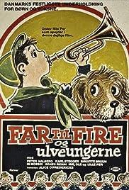 Far til fire og ulveungerne Poster