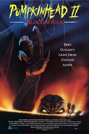 Pumpkinhead II: Blood Wings poster