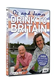 Oz & James Drink to Britain Poster
