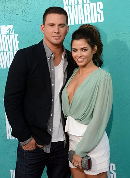 Channing Tatum and Jenna Dewan Tatum at an event for 2012 MTV Movie Awards (2012)