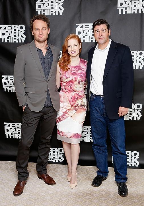 Kyle Chandler, Jason Clarke, and Jessica Chastain at Zero Dark Thirty (2012)