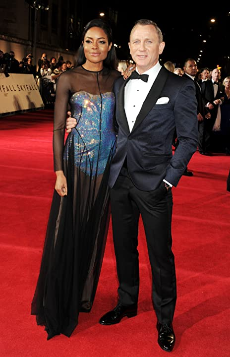 Daniel Craig and Naomie Harris at an event for Skyfall (2012)