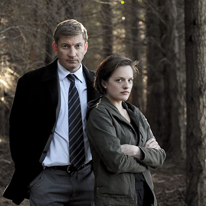 Elisabeth Moss and David Wenham in Top of the Lake (2013)