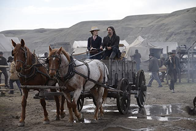 Anson Mount and Jennifer Ferrin in Hell on Wheels (2011)