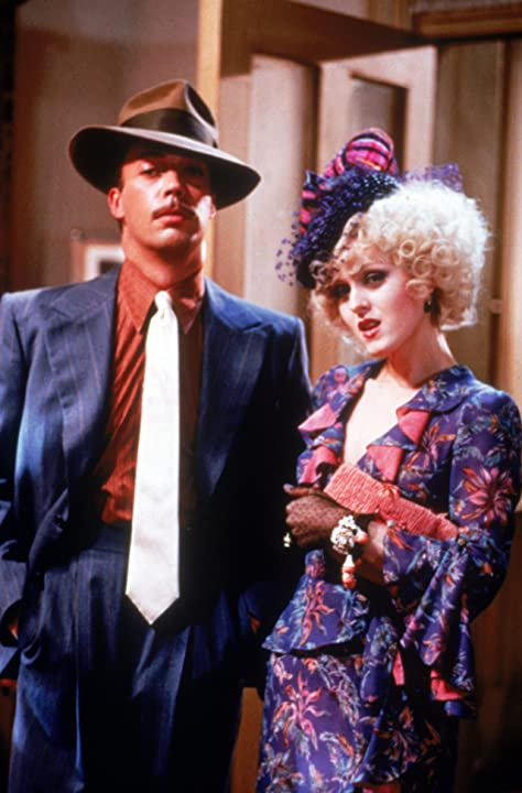 Tim Curry and Bernadette Peters in Annie (1982)