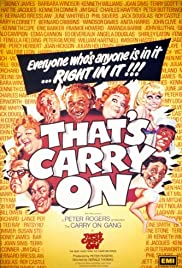 That's Carry On! Poster