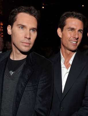 Tom Cruise and Bryan Singer at Valkyrie (2008)