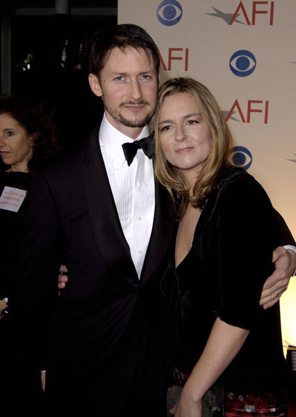 Todd Field & Serena Rathbun arriving at the AFI Awards 2002 at the Beverly Hills Hotel.