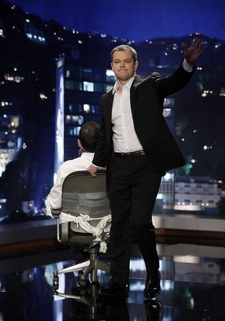 Matt Damon in Jimmy Kimmel Live! (2003)