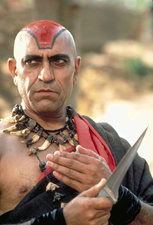Amrish Puri in Indiana Jones and the Temple of Doom (1984)