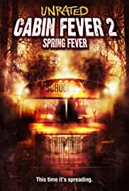 Cabin Fever 2 Spring Fever (2009) BRRip 480p 280MB Dual Audio ( Hindi -English ) MKV
