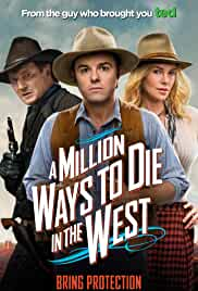 A Million Ways to Die in the West film poster