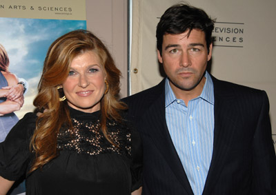 Connie Britton and Kyle Chandler at Friday Night Lights (2006)