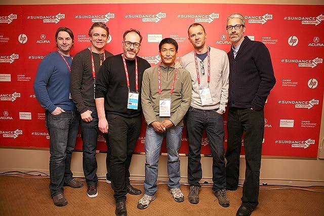 John Battsek, Mark Monroe, Nick Ryan, Darrell Kavanagh, David Torpey, and Pemba Gyalje Sherpa at The Summit (2012)