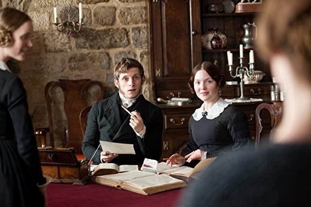 Jamie Bell and Holliday Grainger in Jane Eyre (2011)