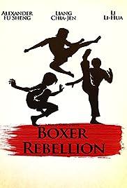 Boxer Rebellion Poster